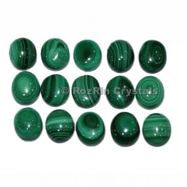 Wholesale Price Oval Natural Malachite Cabochon Lot Gemstone,Natural Malachite Gemstone,Size 7x9 to 10x12 mm Calibrated Cabochon Gemstone