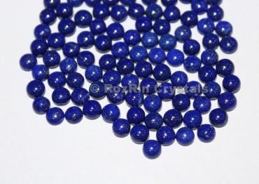 Natural Lapis Lazuli Smooth Round Cabochon Lot,Size 7mm,Natural Lapis Lazuli Gemstone Calibrated Cabochon