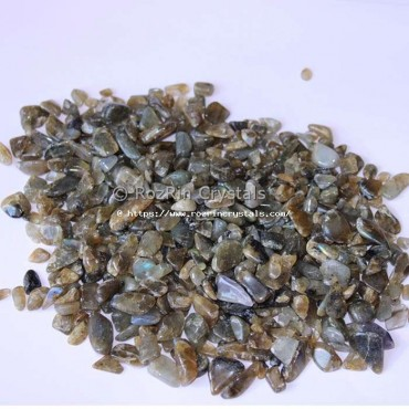 Labradorite Natural Stone chips