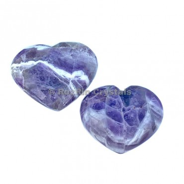 Amethyst Puffy Heart