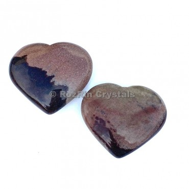Narmada Stone Puffy Heart