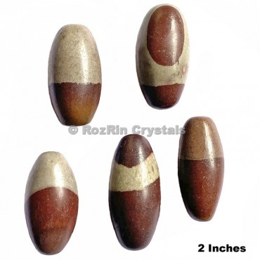 Natural Narmada Lingam 2 Inches