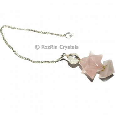Natural Merkaba Star Pyramid Pendulums