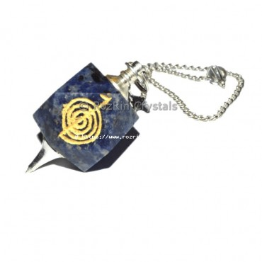 Lapis Lazuli Choko Reiki Pendulums