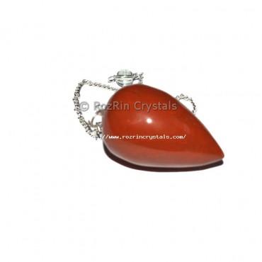 Red Jasper Drop Pendulums