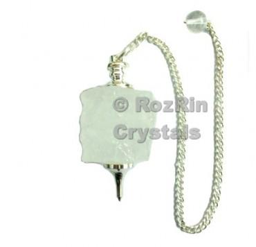 Crystal Quartz Natural Cube Shape Dowsing Pendulums
