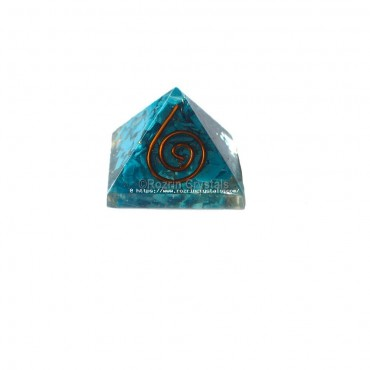 Turquoise Orgone Baby Pyramids For Orgone Healing Reiki