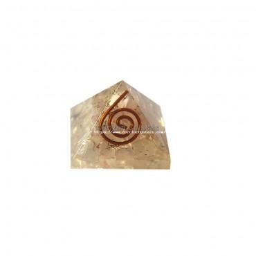 Rose Quartz Orgone Baby Pyramids For Orgone Healing Reiki