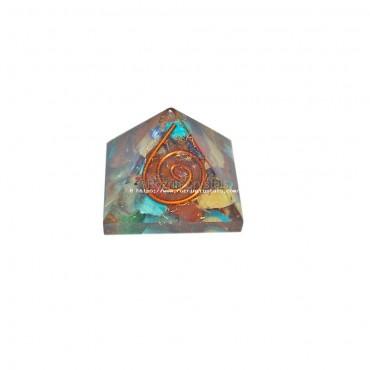 Chakra Orgone Baby Pyramids  For Orgone Healing Reiki