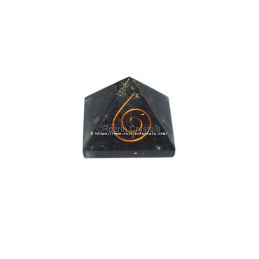Black Obsidian Orgone Baby Pyramids For Orgone Healing Reiki