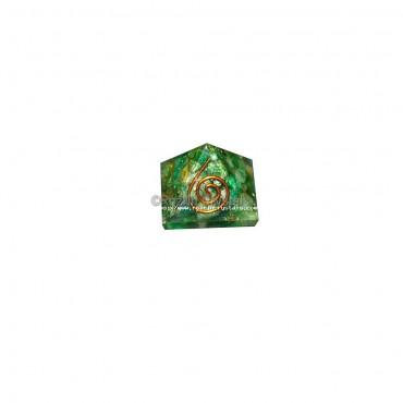 Green Jade Orgone Baby Pyramids For Orgone Healing Reiki