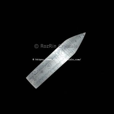 Selenite Design Flate wand
