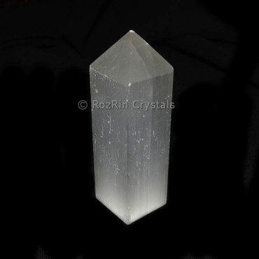 Selenite Pencil Point  Tower